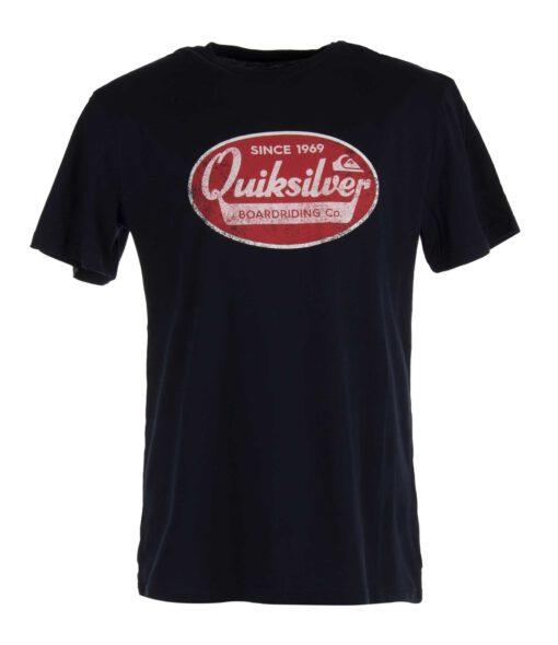 Camiseta Hombre QUIKSILVER manga corta WHAT WE DO BESTS (byj0) Ref. EQYZT06027 azul marino logo pecho