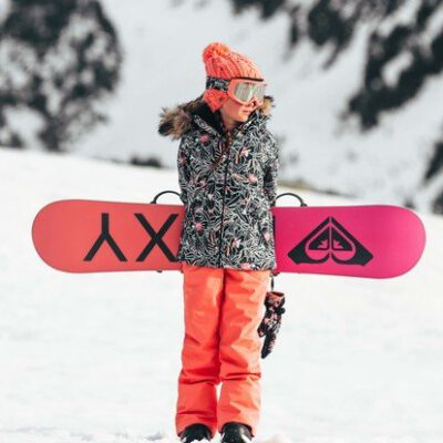 Pantalones nieve ROXY niña aislante WarmFlight® x3 Backyard BEETROOT (mjlo) Ref. ERGTP03021 naranja