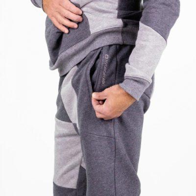 Pantalón chandal Hydroponic hombre SILVER Heather Grey Ref. 20570 gris jaspeado