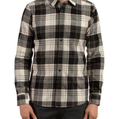 Camisa VOLCOM de Manga larga Hombre FRANELA CUADROS CADEN PLAID CLO Ref. A0531709 cuadros grises y blancos
