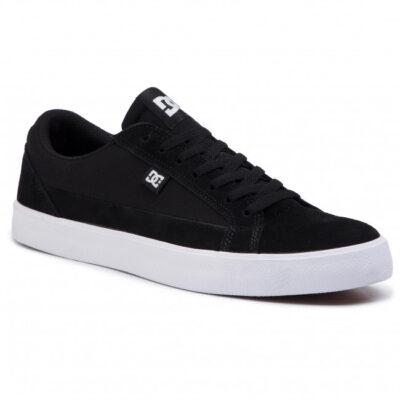 Zapatillas de piel ANTE DC SHOES para hombre TONIK TX Black Ref. 303111 negra logo blanco