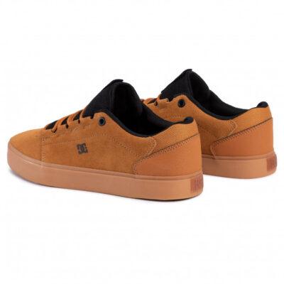 Zapatillas de piel DC SHOES para hombre HYDE Wheat/Black(wea) Ref. ADYS300580 Camel