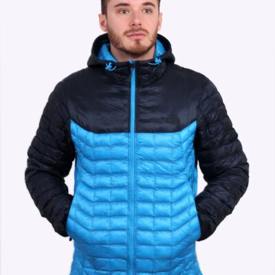 Chaqueta The North Face de plumón hombre cálida Thermoball HD JKT Jacket T9382AMGY Bicolor Azul mate
