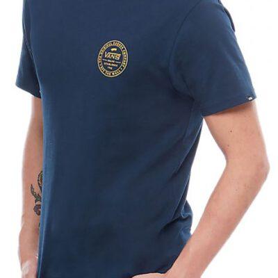 Camiseta Hombre VANS manga corta chico mn established Ref. VA3H71NVY navy marine