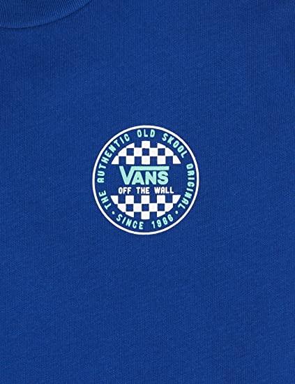 Camiseta manga Corta niño VANS by og checher ss boy REF VN0A49VORGJ SODALITE azul violeta
