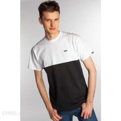 Camiseta Hombre VANS manga corta mn COLORBLOCK TEE ref.VN0A3CZDY28 Blanca negra