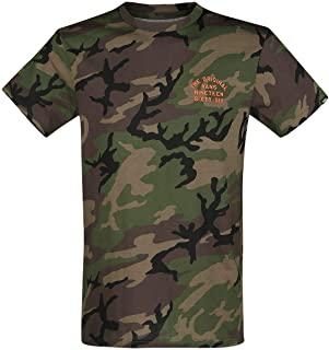 Camiseta Hombre VANS manga corta spring training ss Ref VA3HRHCMA camo camuflaje