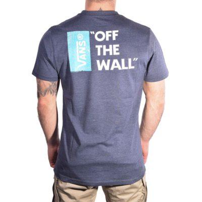 Camiseta Hombre VANS manga corta mn off the wall Ref. V005Y0KSJ navy heather white