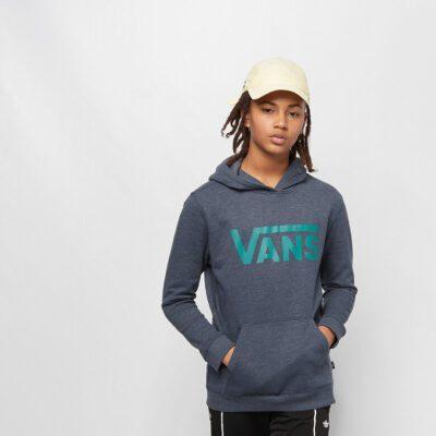 Sudadera VANS con capucha para niño Classic Pullover Hoodie Ref. VN000K60TCK1 Azul tejana logo verde