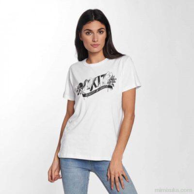 Camiseta NIKITA Mujer manga corta neo tee beauty white REF.NHWTNEB blanca