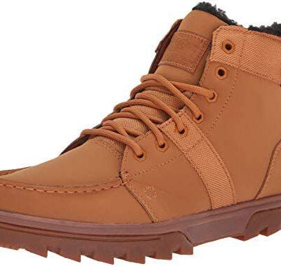 Botas altas impermeables nieve borrego DC SHOES para hombre WOODLAND Wheat/Black (WEA) Ref. 303241 Camel trigo