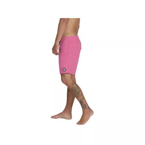 Bañador VOLCOM corto para Hombre LIDO SOLID TRUNL - PINK Ref. A2512005 Rosa fucsia