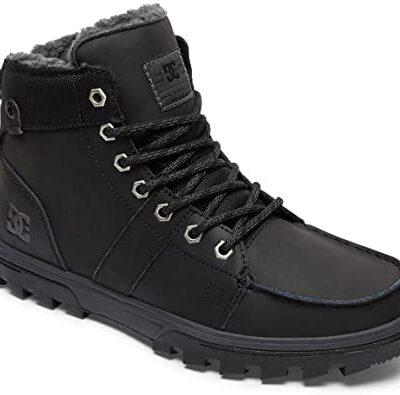 Botas altas impermeables nieve borrego DC SHOES para hombre WOODLAND Black/Gum (BGM) Ref. ADYB700027 begra