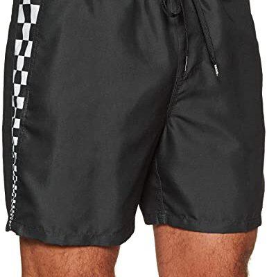 Bañador VANS Hombre de poliéster cintura ajustable Voleibol Primary Ref. VN0A3W9OBLK1 Negro bandas cuadrados