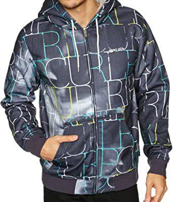 Chaqueta invierno Rip Curl hombre nieve acolchada con capucha cálida Nebula Hooded Men's Jacket Ref. CJK2GL multicolor