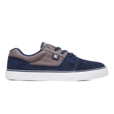 Zapatillas de piel ANTE DC SHOES para hombre TONIK Navy/Orange Ref. 302905 Azul