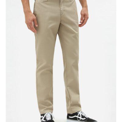 Nueva colección Pantalón DICKIES hombre entallado 872 Slim Fit Work Khaki KHK Ref. DK0WE872 Caqui claro