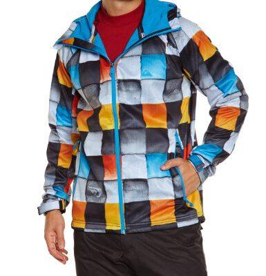 Chaqueta QUIKSILVER hombre Urbana clásica con capucha ROOTS Ref. KTMSJ453 multicolor
