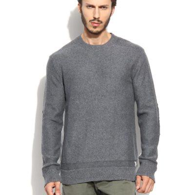 Jersei punto QUIKSILVER hombre cuello redondo The Knit Crew Ref. EQYSW03025 gris