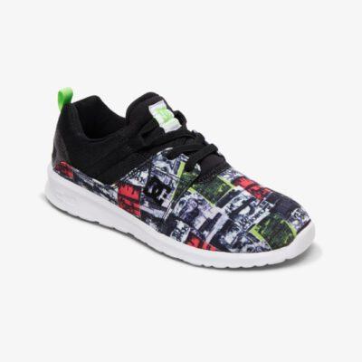Zapatillas malla y ante DC SHOES para niño HEATHROW MULTI (mlt) Ref. ADBS700047 Multicolor