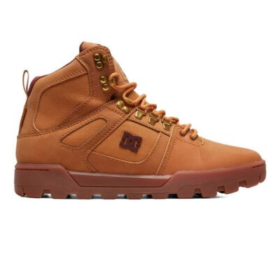 Botas altas impermeables DC SHOES para hombre PURE HIGH-TOP WR BOOT (tan) Ref. ADYB100006 Camel