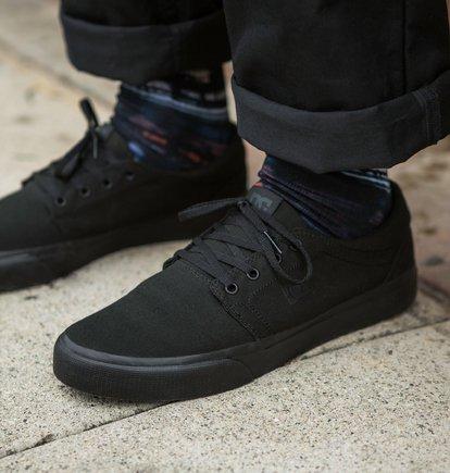 Zapatillas de lona DC SHOES para hombre TRASE TX Black Gum Ref. ADYS300126 Negro goma