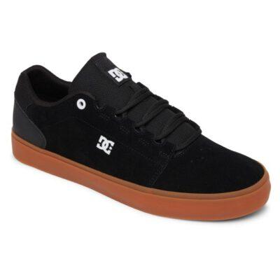 Zapatillas de piel DC SHOES para hombre HYDE Black/Gum Ref. ADYS300580 Negro/goma