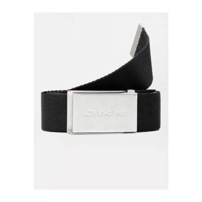 Cinturón Dickies Brookston básico clásico de estilo skate BROOKSTON Ref. DK0A4XBYBLK1 negro