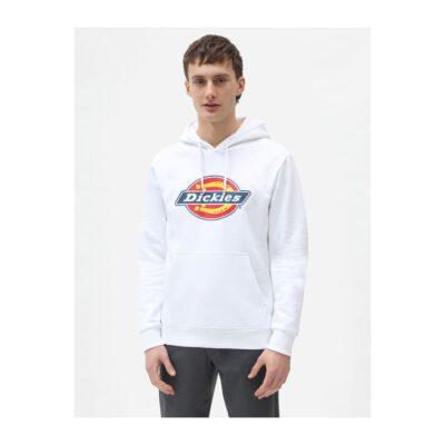 Nueva colección Sudadera DICKIES hombre con capucha suave Icon Logo Hoodie White Ref. DK0A4XCBWHX1 Blanca logo pecho
