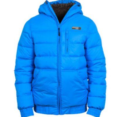 Chaqueta invierno Rip Curl hombre nieve acolchada con capucha cálida LONG PUFFER JACKET Ref. CJKPGU Azul metálico