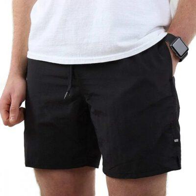 Bañador VANS Hombre de poliéster cintura ajustable PRIMARY VOLLEY Ref. VN0A3W4JBLK1 Negro básico