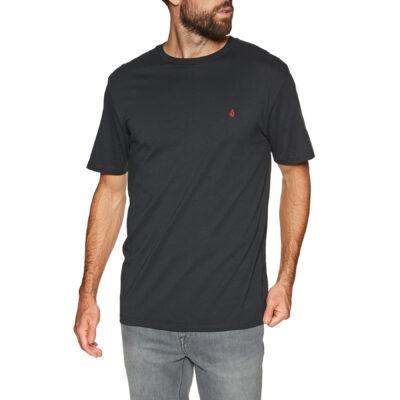 Camiseta Hombre VOLCOM manga corta básica STONE BLANKS - BLACK Ref. A3512056 Negra Nueva colección