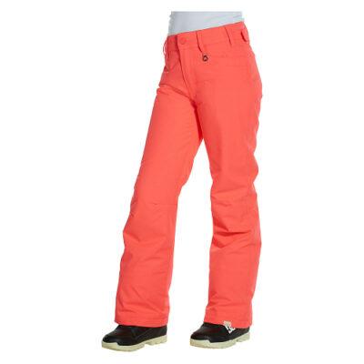 Pantalón nieve ROXY de Talle Alto para Mujer Backyard (mkj0) Ref. ERJTP00018 naranja