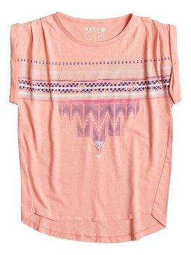 Camiseta ROXY niña manga corta buy kids t-shirts mfpo Ref. ERGZT03116 rosa coral