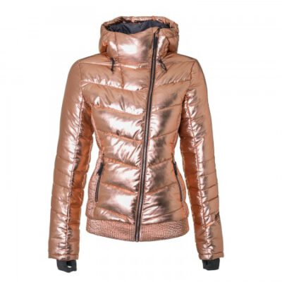 Anorak nieve BRUNOTTI de esquí para mujer Sega Copper Snowjacket Ref. 1822123337 rosa metalizada