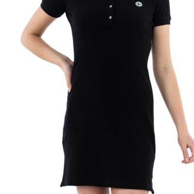Vestido Polo manga corta Jott de Mujer VENISE 9924/999 black BASIC Justoverthetop negro