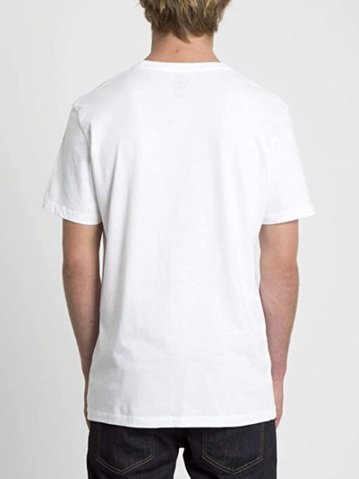Camiseta Hombre VOLCOM manga corta SMIRAL LTW - WHITE Ref. A4331960 blanca labios sonrisa