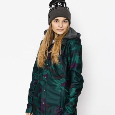 Chaqueta invierno VOLCOM Mujer Snowboard con capucha Franela Circle Camo dca Ref. H0151801 Camuflaje