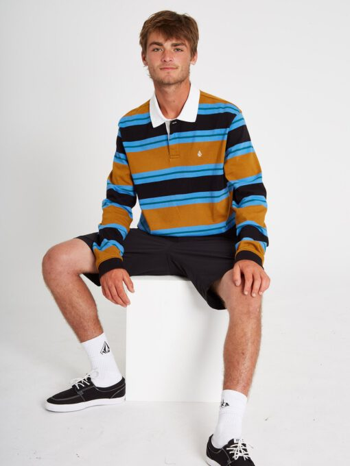 Pantalón corto VOLCOM bermudas para Hombre FRICKIN MODERN STRETCH SHORT - BLACK Ref. A0911601_BLK negro Nueva colección