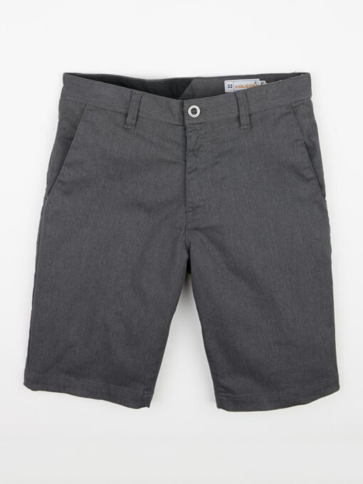 Pantalón corto VOLCOM bermudas para Hombre FRICKIN MODERN STRETCH - CHARCOAL HEATHER Ref. A0911601_CHH negro Nueva colección