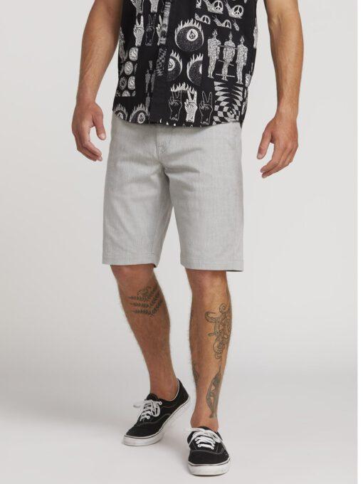 Pantalón corto VOLCOM bermudas para Hombre FRICKIN MODERN STRETCH SHORT - GREY Ref. A0911601_GRY gris claro Nueva colección