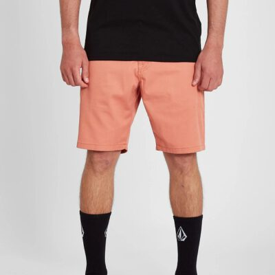 "Pantalón corto VOLCOM bermudas chino para Hombre FRICKIN MODERN STRETCH 19"" - CLAY ORANGE Ref. A0931602_CYO naranja Nueva colección"