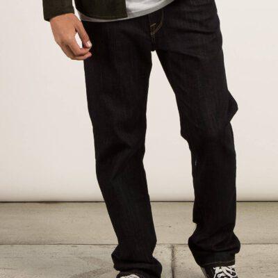 Pantalón VOLCOM Vaqueros corte regular para Hombre KINKADE DENIM - RINSE Ref. A1931506 azul tejano oscuro