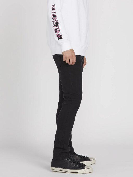 Pantalón VOLCOM Vaqueros corte regular para Hombre 2X4 DENIM - INK BLACK Ref. A1931510 negro tejano