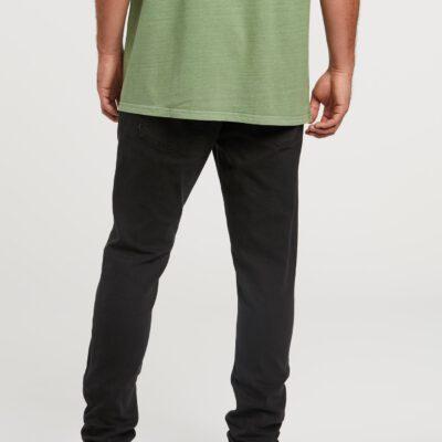 Pantalón VOLCOM Vaqueros corte ceñido para Hombre VORTA TAPERED - INK BLACK Ref. A1931601 negro tejano