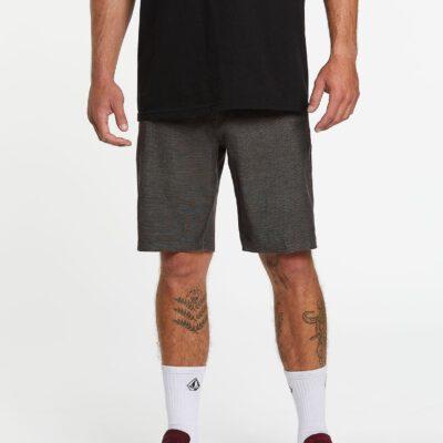 """Pantalón corto VOLCOM bermudas para Hombre HÍBRIDO FRICKIN SURF'N'TURF SLUB 20"""" - BLACK Ref. A3211904_BLK negro Nueva colección"""