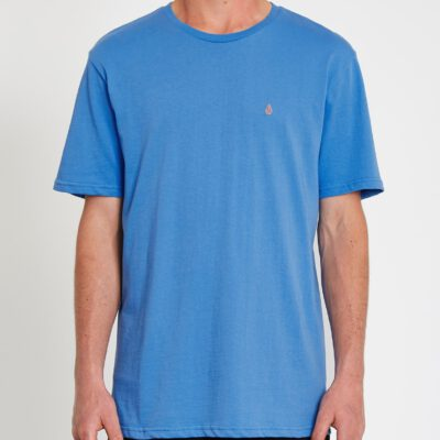 Camiseta Hombre VOLCOM manga corta básica STONE BLANKS - BALLPOINT BLUE Ref. A3512056 Azul Nueva colección