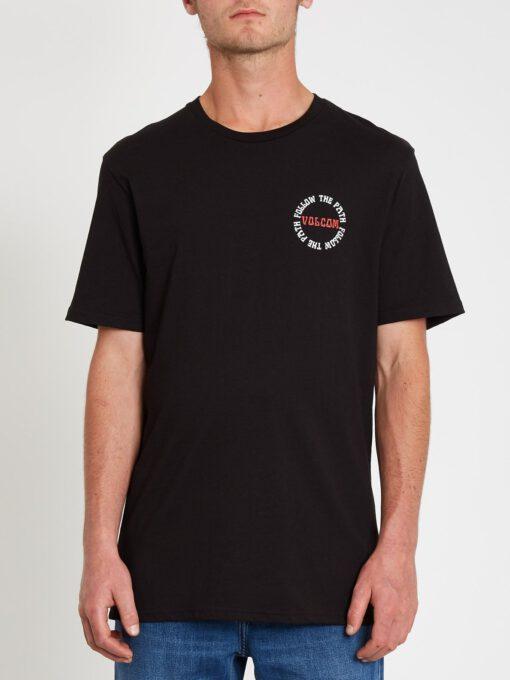 Camiseta Hombre VOLCOM manga corta DITHER - BLACK Ref. A3512119_BLK negra calavera Nueva colección