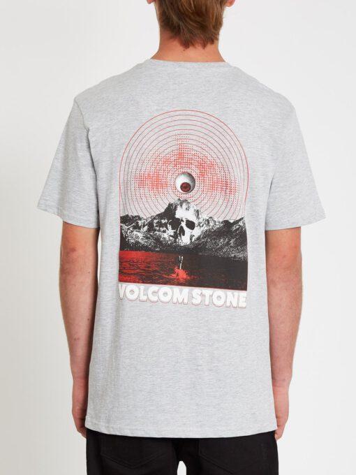 Camiseta Hombre VOLCOM manga corta DITHER - HEATHER GREY Ref. A3512119_HGR gris calavera Nueva colección