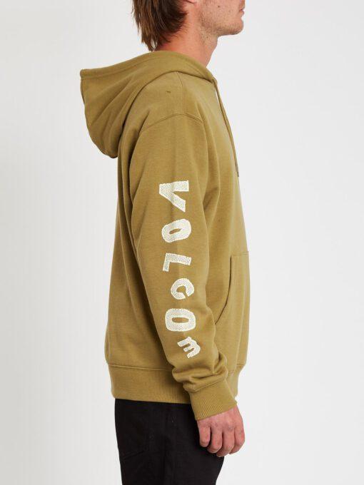 Sudadera VOLCOM Hombre con capucha casual PENTROPIC - OLD MILL Ref. A4112100 verde claro Nueva Colección